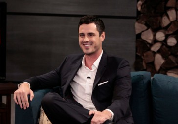 """BACHELOR IN PARADISE: AFTER PARADISE - """"Episode 104"""" - The wait is finally over as the new Bachelor for the series' landmark 20th season was introduced live in-studio and sat down with Chris Harrison and Jenny Mollen, on ABC's after-show """"Bachelor in Paradise: After Paradise"""" on MONDAY, AUGUST 24 (9:00-10:00 p.m., ET/PT). """"The View"""" co-host and comedian Michelle Collins weighed in on the most recent episode of """"Bachelor in Paradise"""" as a celebrity panelist along with contestants Dan and Joe. (ABC/Rick Rowell)BEN HIGGINS"""